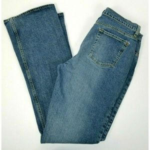 GAP Stretch Boot Cut Blue Jeans 12 LONG